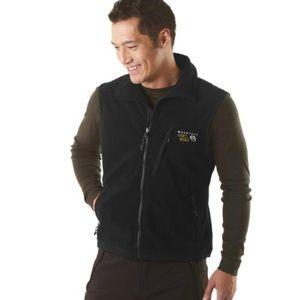 MOUNTAIN HARDWEAR Men's Windstopper Vest Black XL